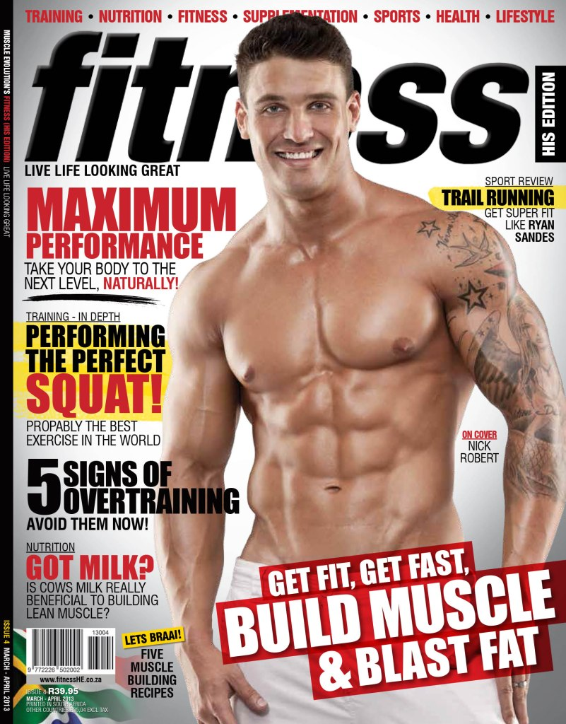 Fitness His Edition Front Cover