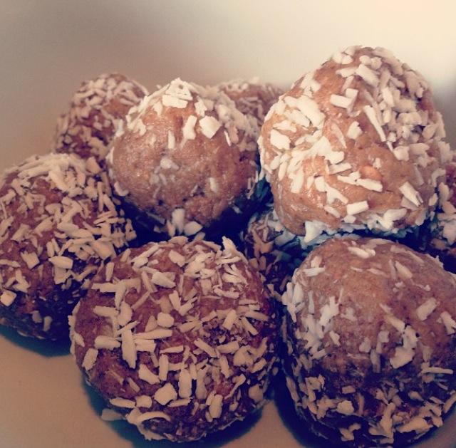 Peanut and Coconut Balls