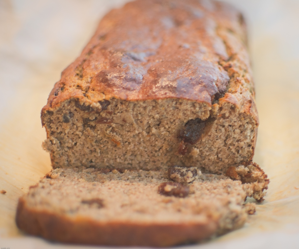 coconut cinnamon raisin loaf