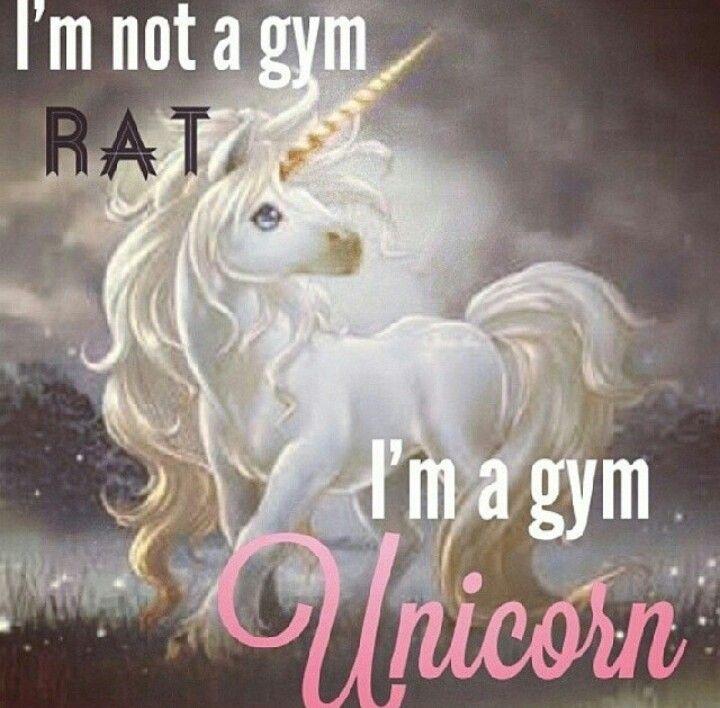 Gym unicorn
